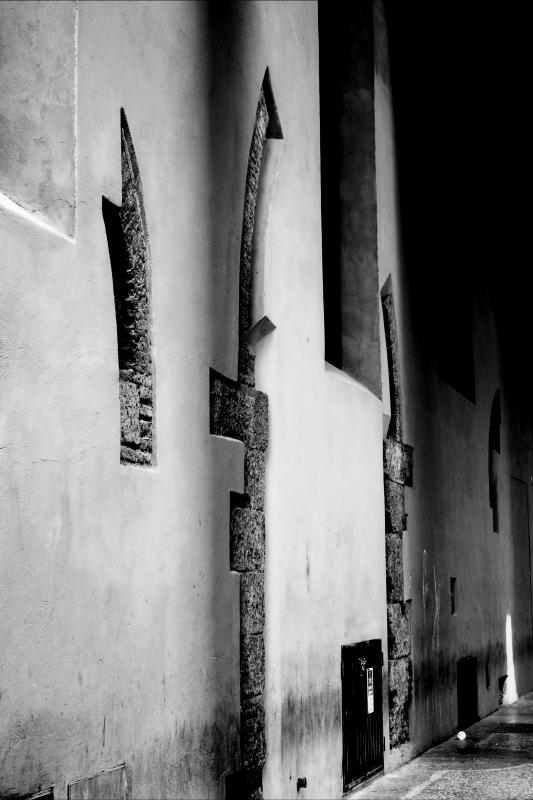 Particolari dei portici bolognesi di via Altabella - Patrizia - Bologna (BO)