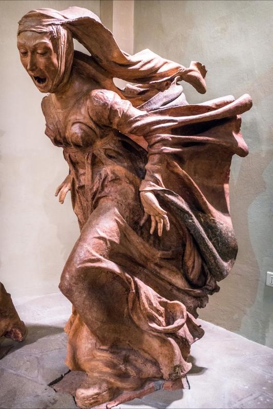 Compianto sul Cristo morto, detail, Maria Maddalena - Ugeorge - Bologna (BO)