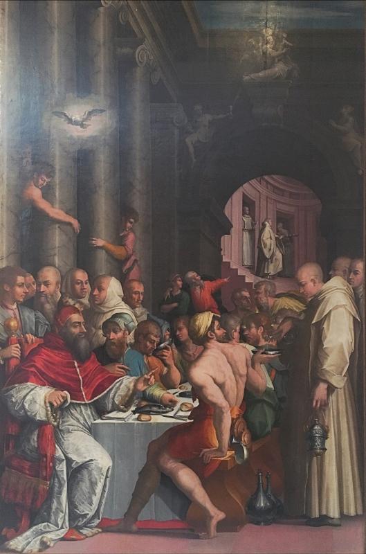Cena San Gregorio Magno Giorgio Vasari - Waltre manni - Bologna (BO)
