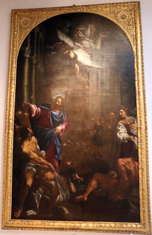 Ludovico carracci, miracolo della piscina, 1595-96 ca., da s. giorgio 01 - Sailko - Bologna (BO)