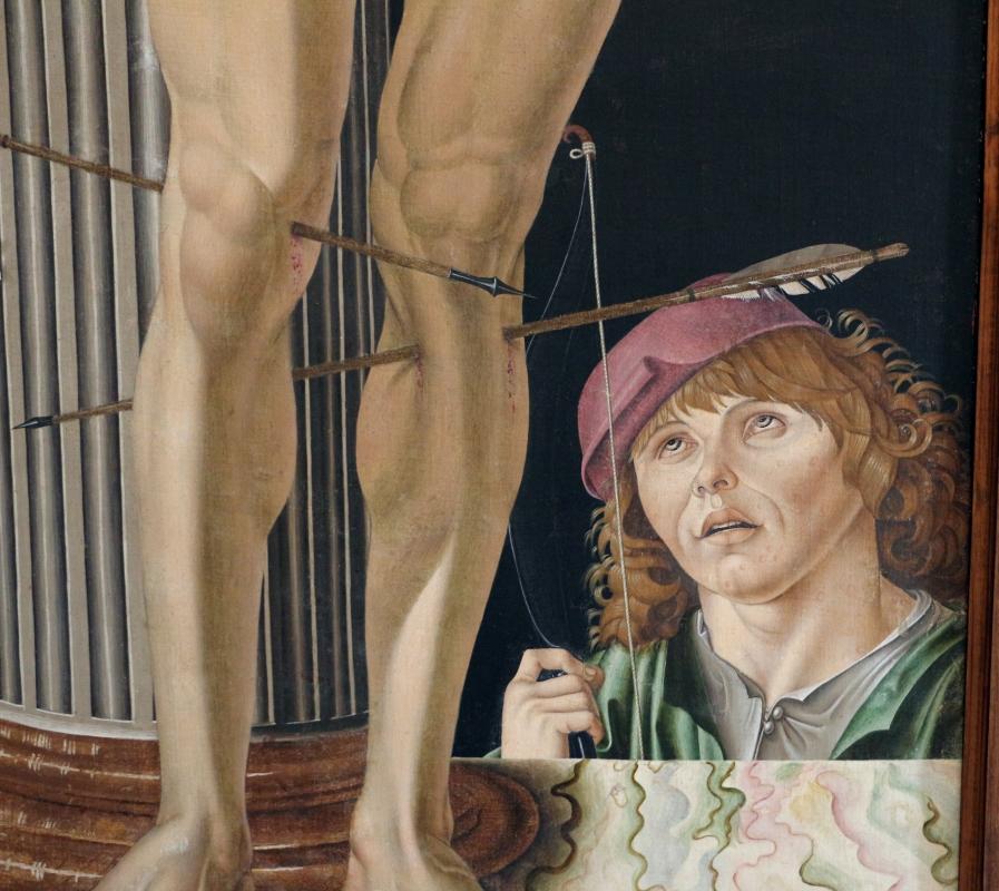 Antonio di bartolomeo maineri, san sebastiano alla colonna, 1492, 03 - Sailko - Bologna (BO)