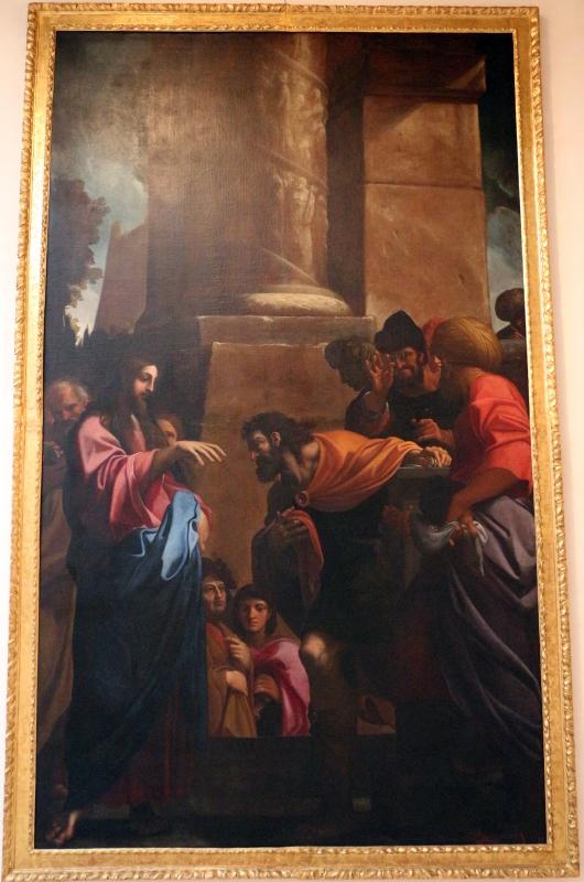 Ludovico carracci, vocazione di s. matteo, 1607-09 ca. sa s. m. della pietà o dei mendicanti, 01 - Sailko - Bologna (BO)