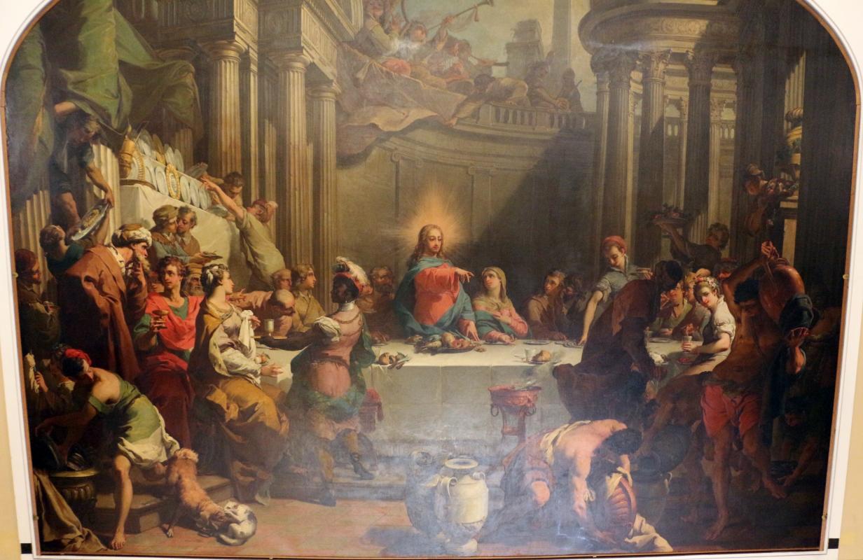 Gaetano gandolfi, nozze di cana, 1775, 02 - Sailko - Bologna (BO)