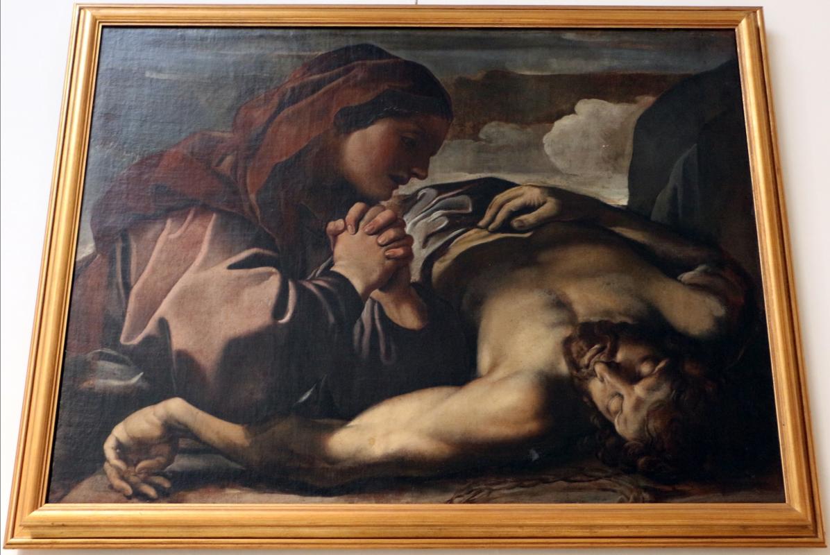 Alessandro tiarini, maria piange cristo morto, 1635-40 ca., coll. zambeccari - Sailko - Bologna (BO)