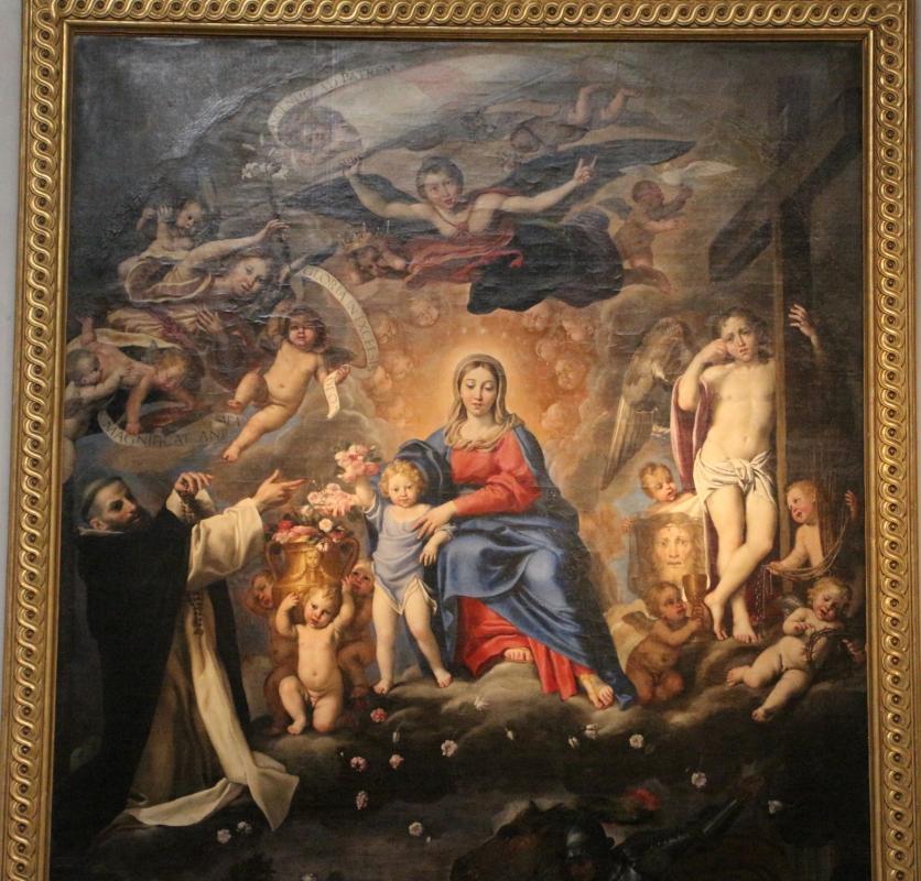 Domenichino, madonna del rosario, 1617-21, da s. giovanni in monte 02 - Sailko - Bologna (BO)