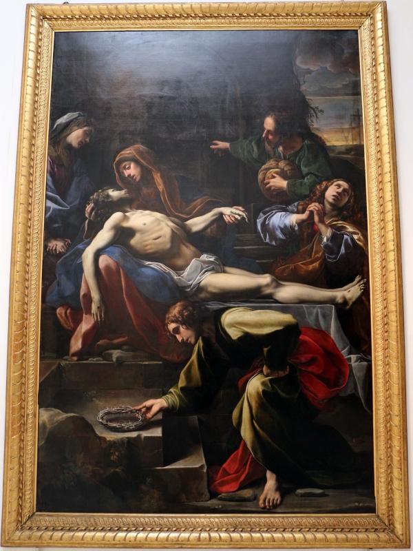 Alessandro tiarini, compianto sul cristo morto, 1617, da s. antonio abate in montalto - Sailko - Bologna (BO)