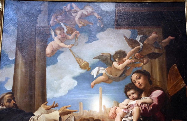 Ludovico carracci, madonna in trono e santi, 1588, dai ss. giacomo e filippo detto le convertite, 02 angeli - Sailko - Bologna (BO)