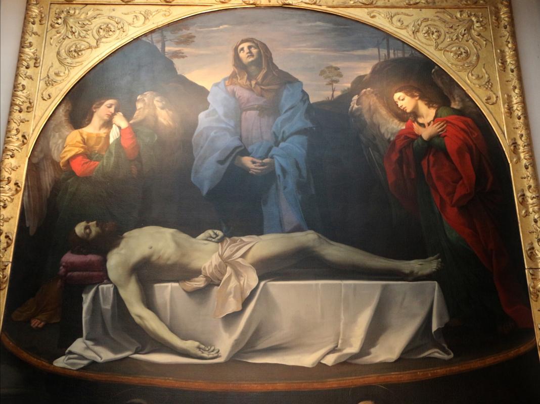 Guido reni, pietà adorata da cinque santi, 1616, da s. maria della pietà o dei mendicanti 03 - Sailko - Bologna (BO)