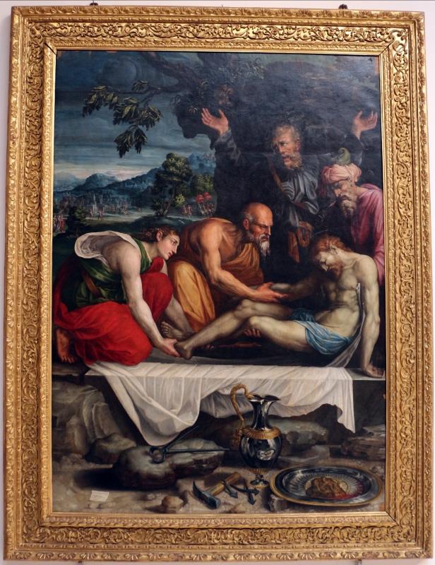 Prospero fontana, sepoltura di cristo, 1548-49 ca, da oratorio di s.m. della morte 01 - Sailko - Bologna (BO)