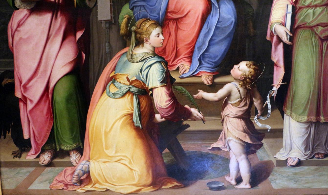 Il bagnacavallo junior, madonna in trono e santi, 1550 ca., dai s. narborre e felice, 03 - Sailko - Bologna (BO)