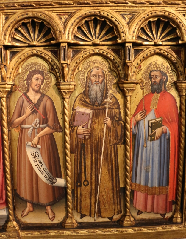 Simone dei crocifissi, polittico dai ss. leonardo e orsola, 1385-90 ca. 07 - Sailko - Bologna (BO)