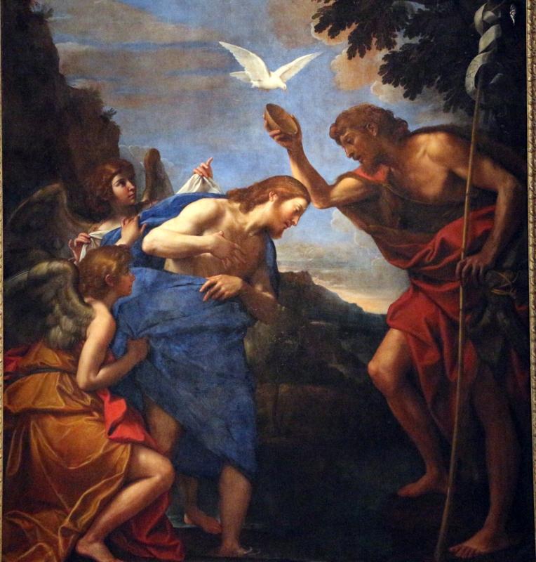 Francesco albani, battesimo di cristo, 1620-24 ca., da s. giorgio 03 - Sailko - Bologna (BO)