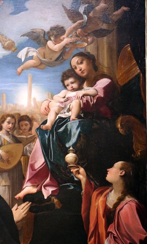 Ludovico carracci, madonna in trono e santi, 1588, dai ss. giacomo e filippo detto le convertite, 05 - Sailko - Bologna (BO)