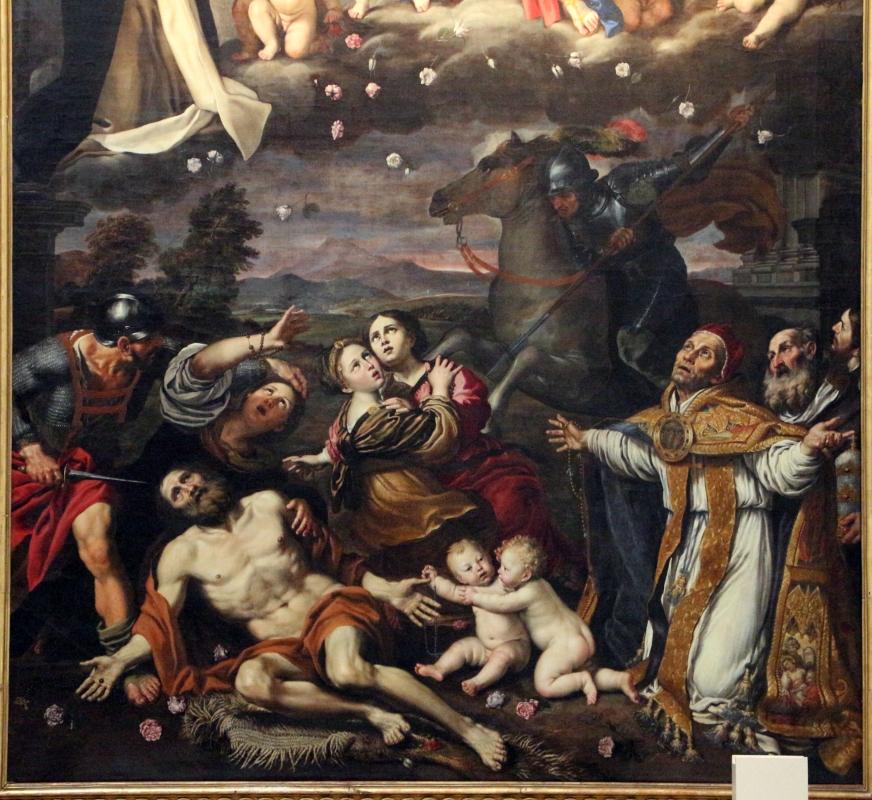 Domenichino, madonna del rosario, 1617-21, da s. giovanni in monte 04 - Sailko - Bologna (BO)
