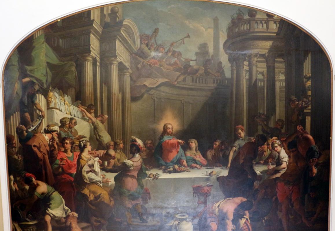 Gaetano gandolfi, nozze di cana, 1775, 01 - Sailko - Bologna (BO)