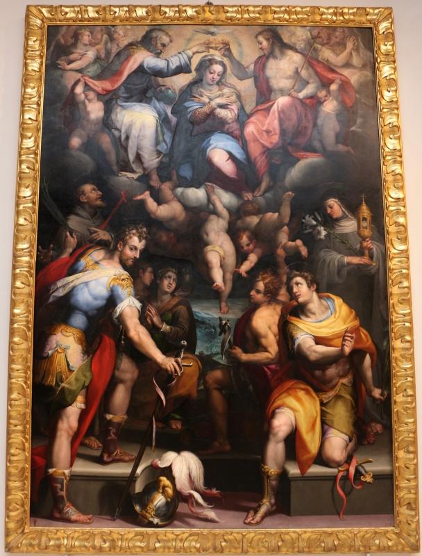 Orazio samacchini, madonna in gloria e santi, 1575 ca., dai ss. narborre e felice, 01 - Sailko - Bologna (BO)