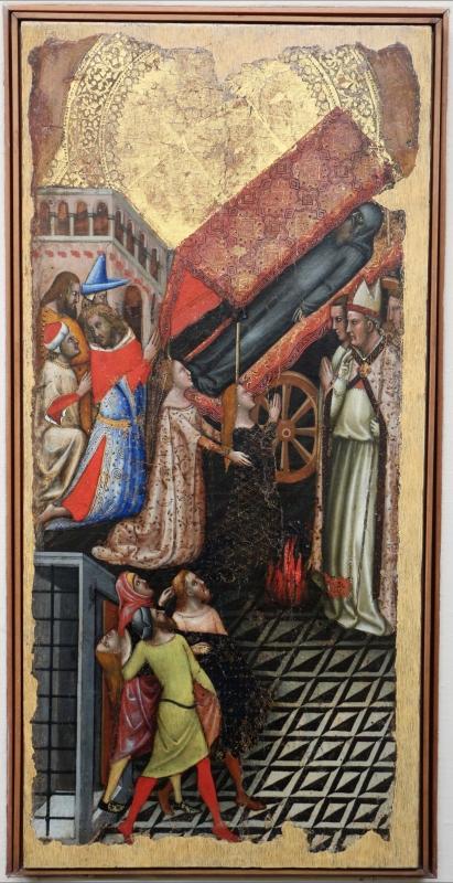Vitale da bologna, storie di s. antonio abate, 1340-45 ca., da s. stefano 01 - Sailko - Bologna (BO)