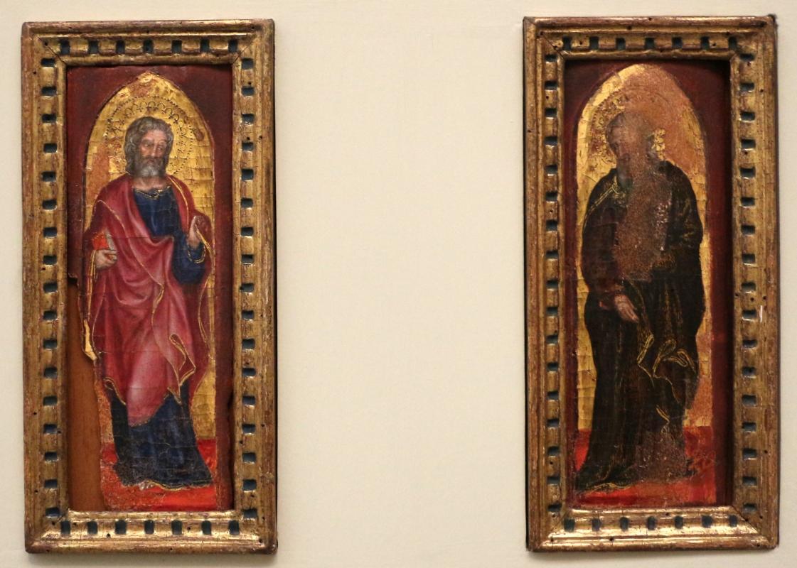 Gentile da fabriano, due apostoli, 1410-15 ca., 01 - Sailko - Bologna (BO)