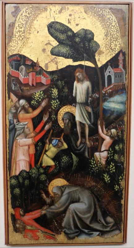 Vitale da bologna, storie di s. antonio abate, 1340-45 ca., da s. stefano 03 - Sailko - Bologna (BO)