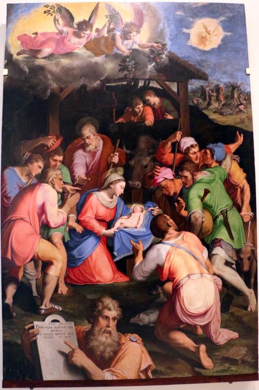 Il bagnacavallo junior, adorazione dei pastori (pinacoteca di cento) 01 - Sailko - Bologna (BO)