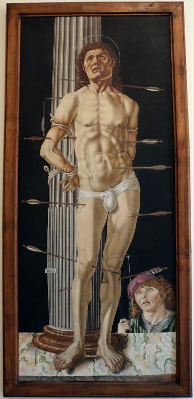 Antonio di bartolomeo maineri, san sebastiano alla colonna, 1492, 01 - Sailko - Bologna (BO)