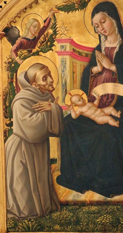 L'alunno, madonna in trono e santi con annunciazione, 02 - Sailko - Bologna (BO)