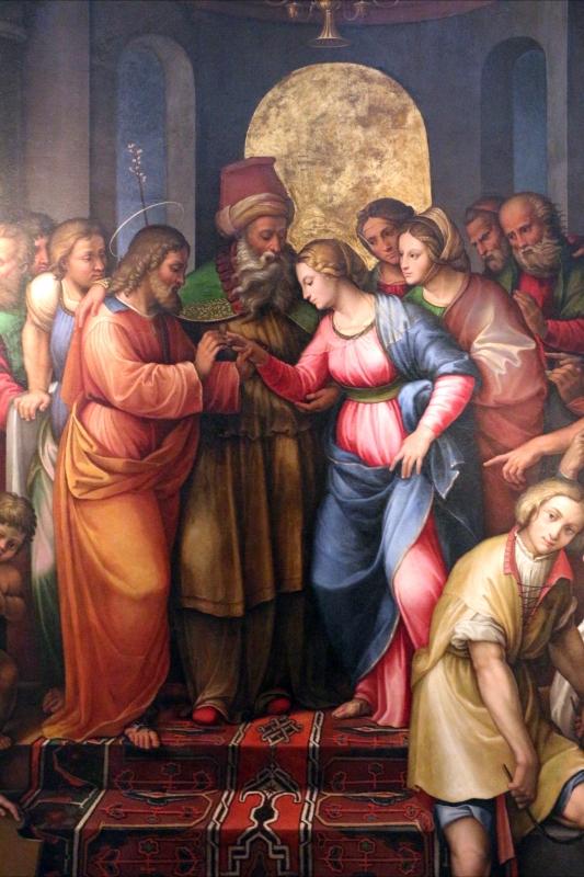 Girolamo marchesi detto il cotignola, sposalizio della vergine, 1522-24, da s. giuseppe dei cappuccini, 03 - Sailko - Bologna (BO)