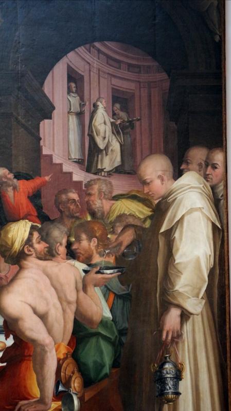 Giorgio vasari, cena in casa di san gregorio magno, 1540, da s. giovanni in bosco, 03 - Sailko - Bologna (BO)