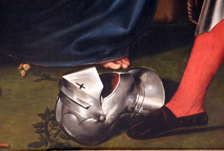 Giacomo e giulio francia, madonna col bambino tra ciqnue santi e angeli, 1526, da s. francesco 05 elmo - Sailko - Bologna (BO)