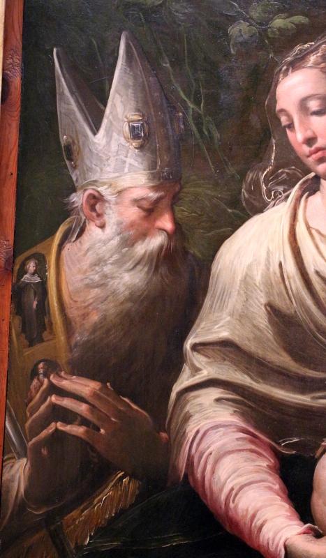 Parmigianino, madonna col bambino e santi, 1529, da s. margherita 02 petronio - Sailko - Bologna (BO)
