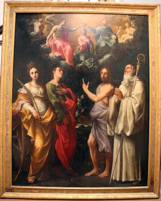 Guido reni, incoronazione della vergine e santi, 1595-98, da s. bernardo - Sailko - Bologna (BO)