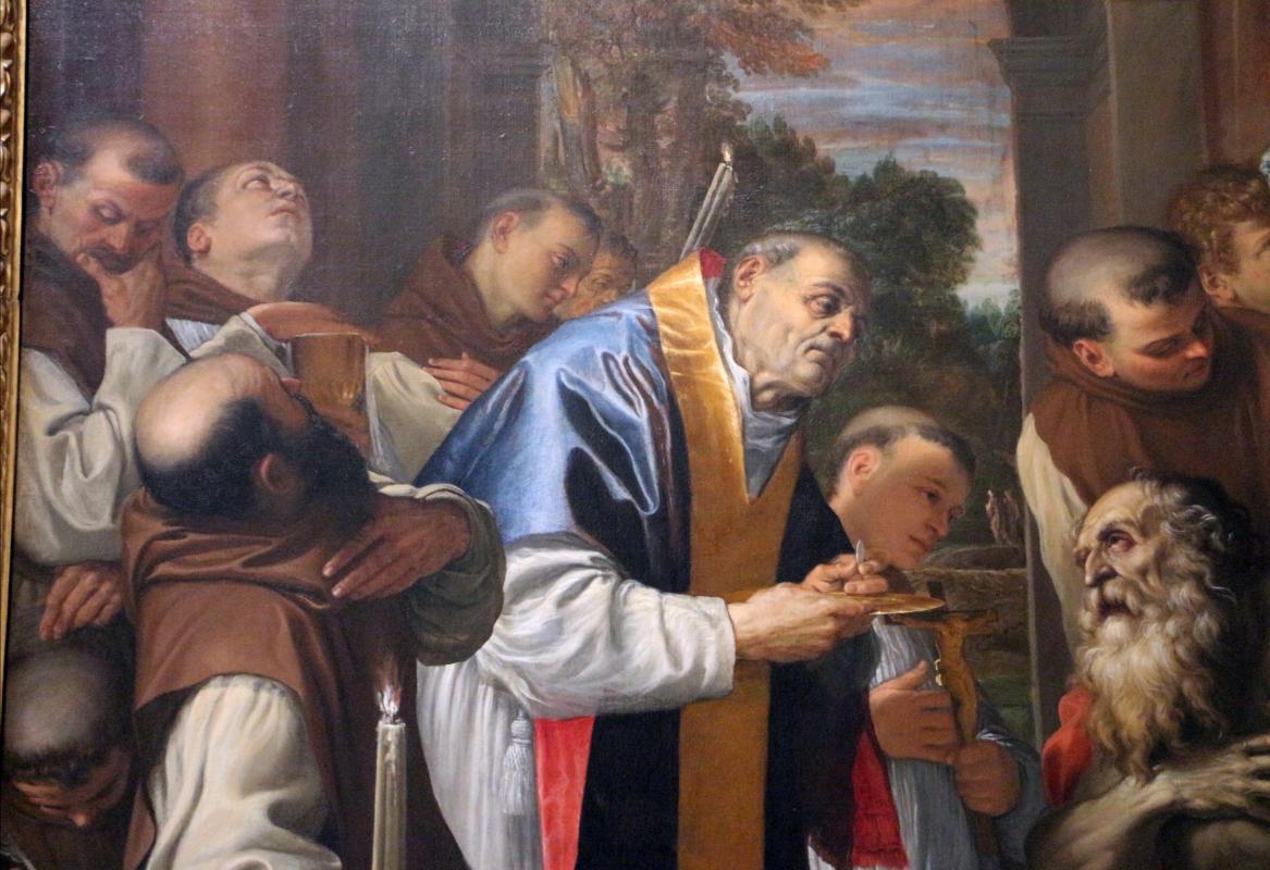 Agostino carracci, ultima comunione di san girolamo, 1591-97, da s. girolamo alla certosa 02 - Sailko - Bologna (BO)