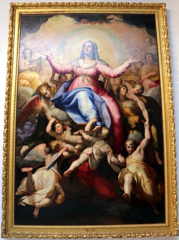 Lorenzo sabatini, assunta in gloria d'angeli, da s.m. degli angeli, 1569-70, 01 - Sailko - Bologna (BO)