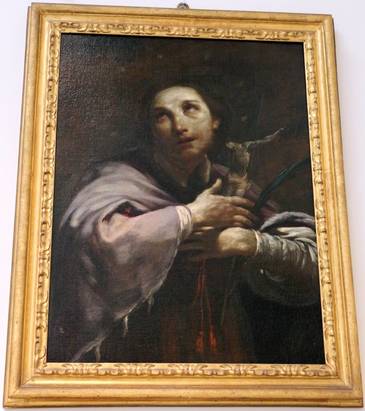 Giuseppe maria crespi, san giovanni nepomuceno stringe il crocifisso, 1730 ca., da collegio dello spirito santo - Sailko - Bologna (BO)