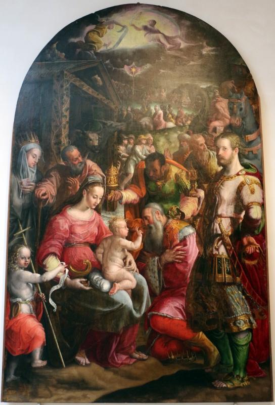 Prospero Fontana, adorazione dei magi, 1569 ca., da s. caterina del corpus domini, 01 - Sailko - Bologna (BO)