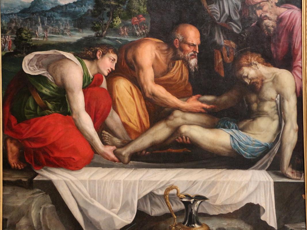 Prospero fontana, sepoltura di cristo, 1548-49 ca, da oratorio di s.m. della morte 04 - Sailko - Bologna (BO)