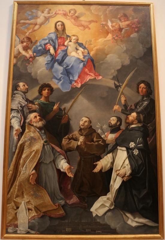 Guido reni, pala della peste, 1630, dal palazzo pubblico 01 - Sailko - Bologna (BO)