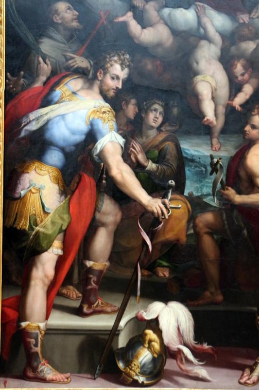 Orazio samacchini, madonna in gloria e santi, 1575 ca., dai ss. narborre e felice, 04 - Sailko - Bologna (BO)