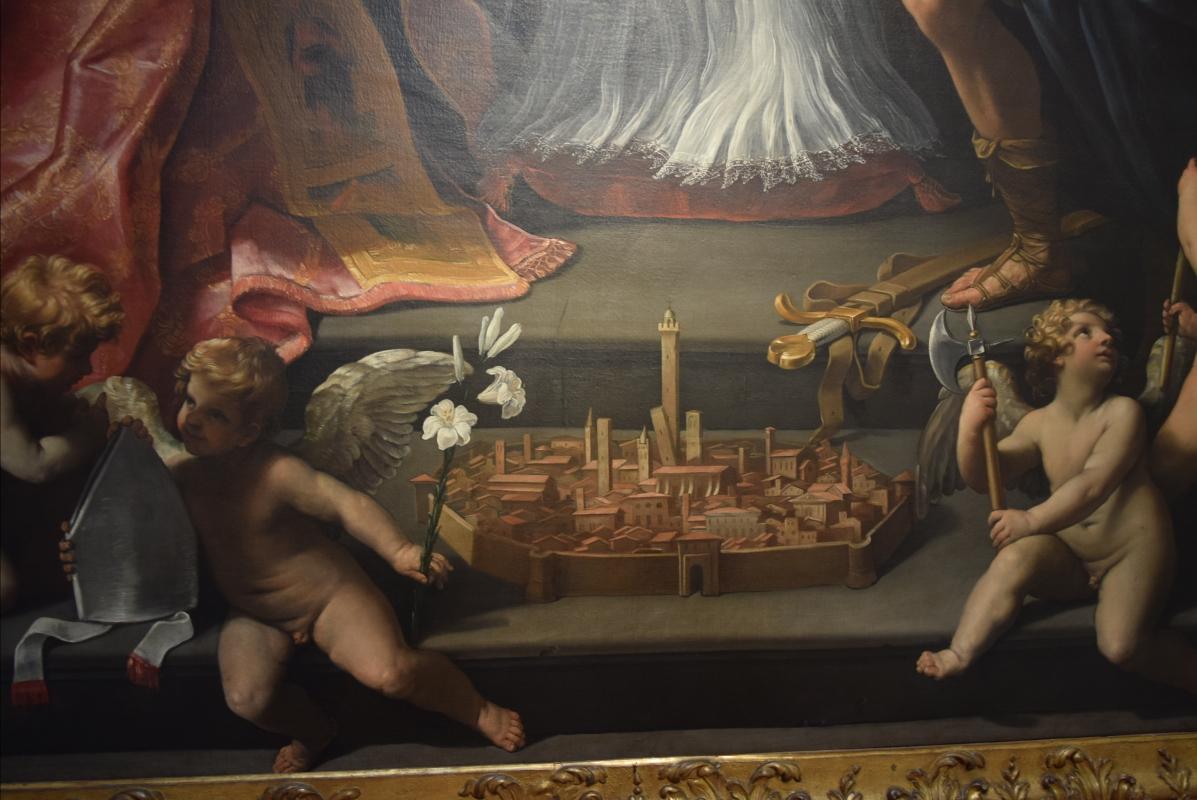 """Città di Bologna nel dipinto di Guido Reni """"Cristo in Pietà"""" - Ste Bo77 - Bologna (BO)"""