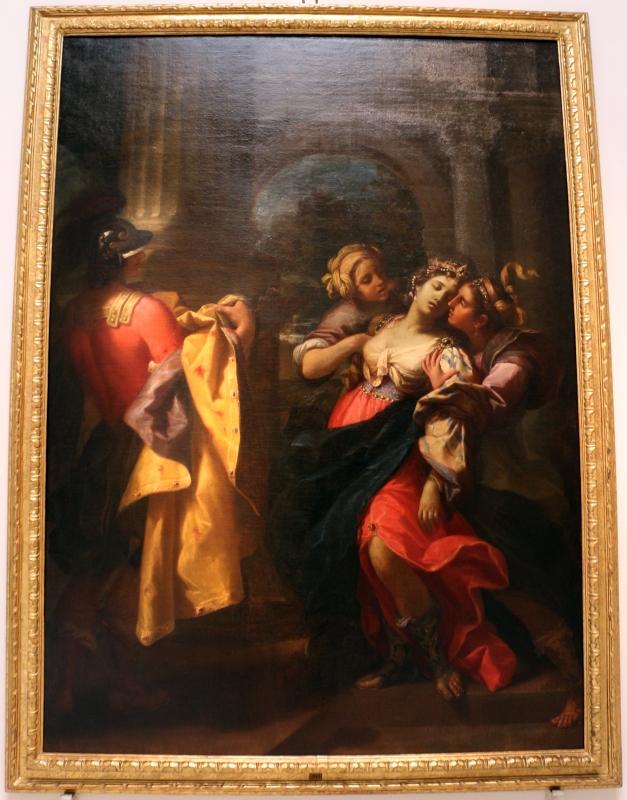 Lorenzo pasinelli, svenimento di giulia, moglie di pompeo, 1673 ca - Sailko - Bologna (BO)
