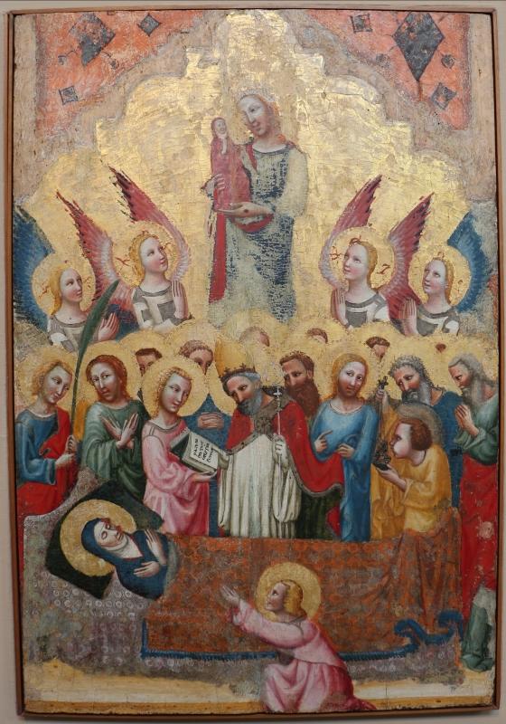Pseudo jacopino, morte della vergine, 1329, da s. cristina - Sailko - Bologna (BO)