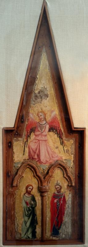 Pseudo jacopino, un angelo e due santi, 1329, da s. cristina - Sailko - Bologna (BO)