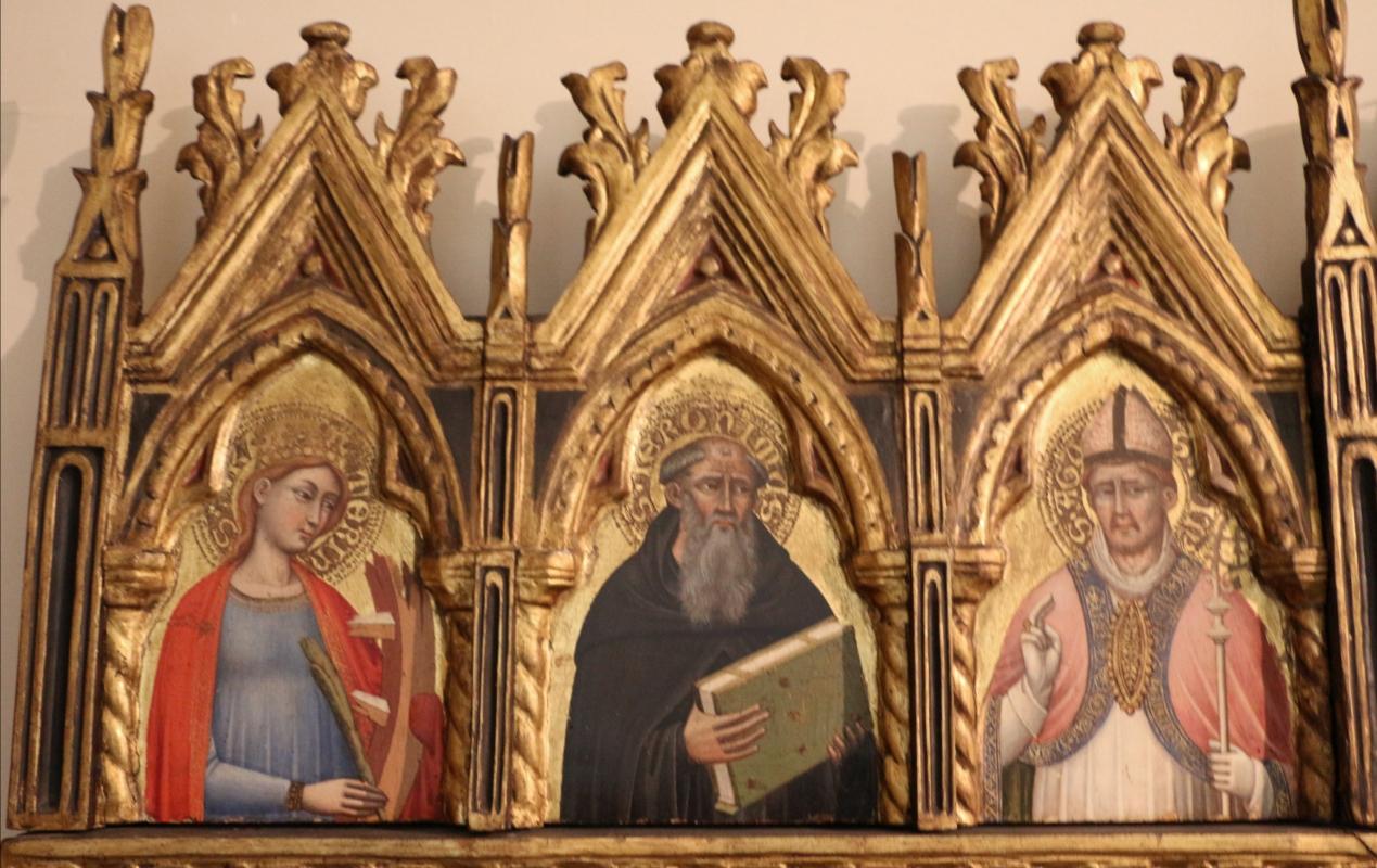 Simone dei crocifissi, polittico dai ss. leonardo e orsola, 1385-90 ca. 02 - Sailko - Bologna (BO)