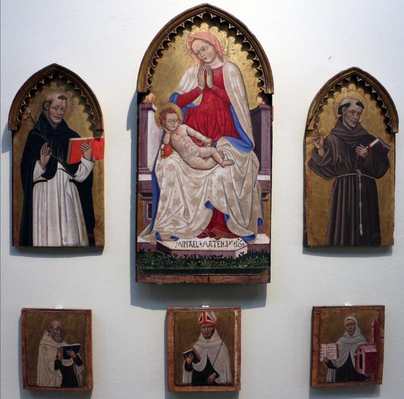 Michele di matteo, polittico frammentario, da s. martino maggiore, 1469 - Sailko - Bologna (BO)