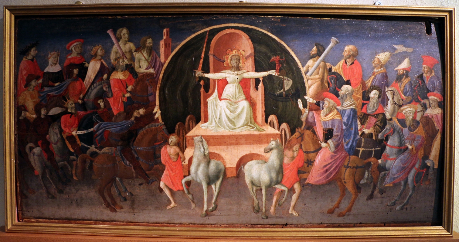 Zanobi strozzi, trinfo della fama, 1440-45 ca - Sailko - Bologna (BO)