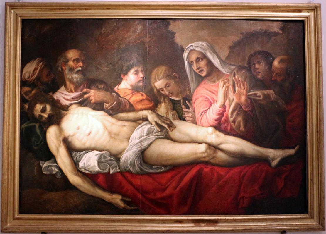 Giovan battista franco, compianto sul cristo morto, 1554-55, coll. zambeccari - Sailko - Bologna (BO)
