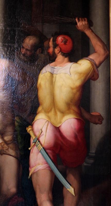Denjs calvaert, flagellazione, 1575-80 ca., da s.m. delle carceri 04 - Sailko - Bologna (BO)