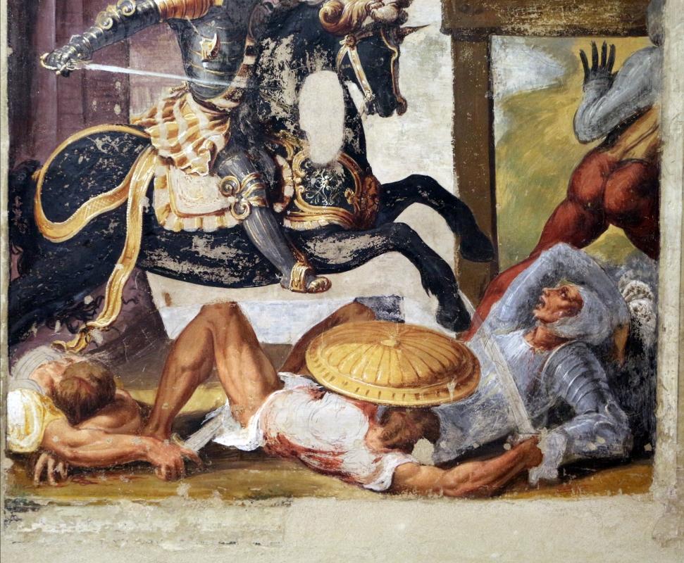 Niccolò dell'abate, affreschi dell'orlando furioso, da palazzo torfanini 05 ruggero fugge dal castello di alcina 4 - Sailko - Bologna (BO)