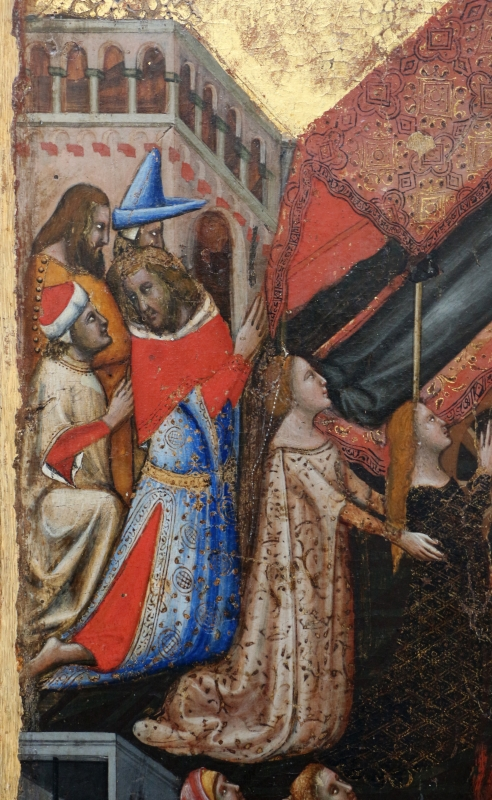 Vitale da bologna, storie di s. antonio abate, 1340-45 ca., da s. stefano 02 - Sailko - Bologna (BO)