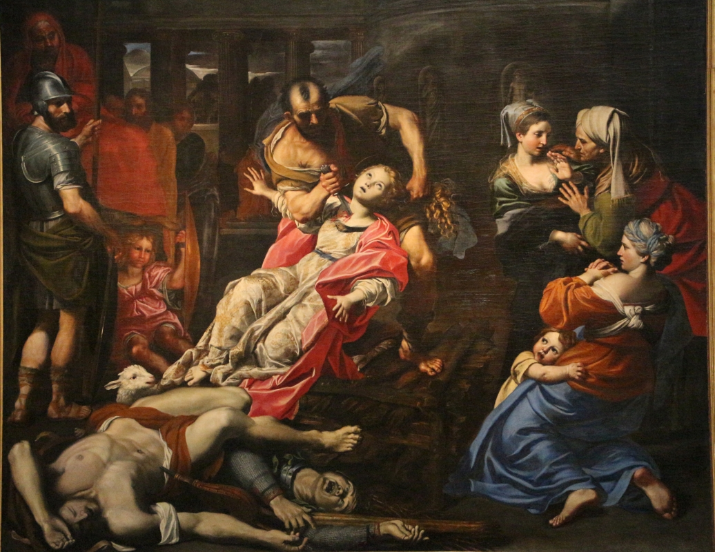 Domenichino, martirio di s. agnese, 1621-25 ca., da s. agnese 03 - Sailko - Bologna (BO)